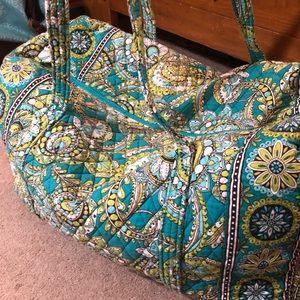 Vera Bradley Iconic Large Travel Duffle Bag EUC